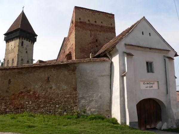 Ecel temploma, Erdély - Szeben megye