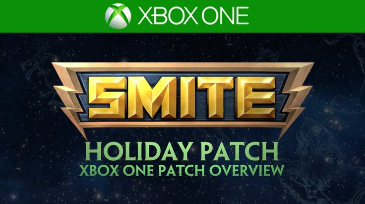 SMITE Xbox One Patch Overview - Holiday Patch