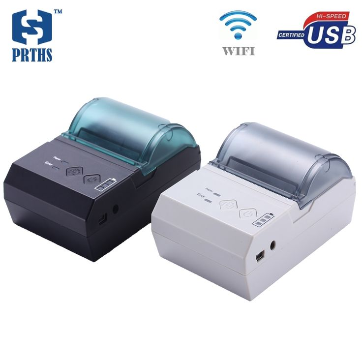 51.21$  Watch here - http://alivsj.shopchina.info/go.php?t=32638325142 - 58mm portable WIFI printer USB mini thermal pos bill printer support unintermittent sticker label QR code printing for business 51.21$ #buychinaproducts