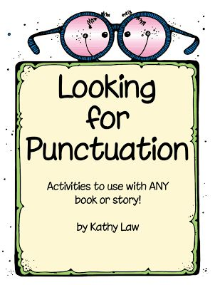 LA - Activities for any book - Looking for Punctuation FREEBIE:  First Grade a la Carte