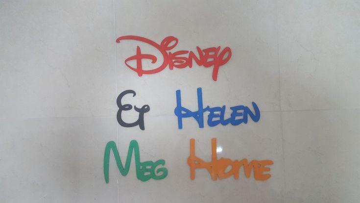 Kids door plaque bedroom plaque Personalised Names Wedding/Home/Gift letters #Handmade #Kids