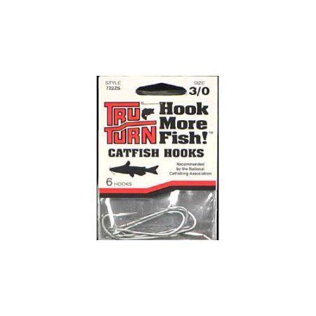 Catfish Hook Sz 3/0 6PK, Multicolor