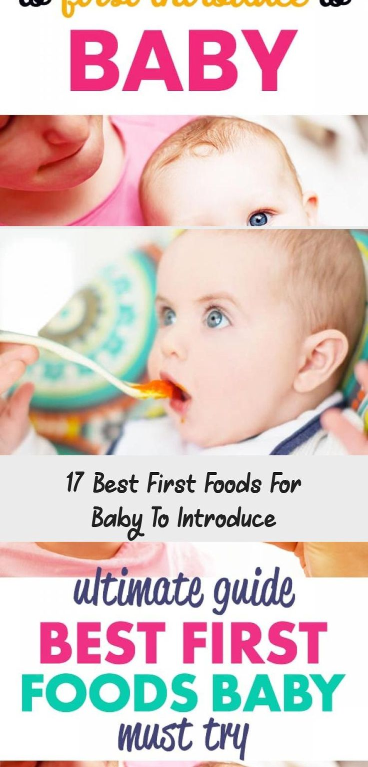 17 Best First Foods For Baby To Introduce - Baby in 2020 ...