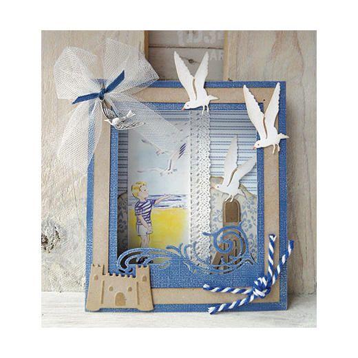 Marianne Design Craftables Die - Tiny's Sandcastle Set CR1278 < Craft Shop | Cuddly Buddly Crafts