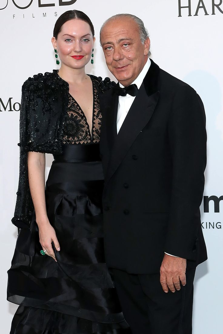 FAWAZ GRUOSI AND SOPHIE TAYLOR - Cannes Film Festival 2017