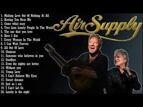 Air Supply Greatest Hits - Top 20 Best Songs Of Air Supply! - YouTube
