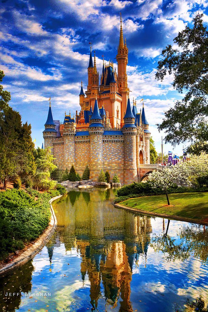 Cinderella Castle - Walt Disney World - Orlando - USA ~ Ʀεƥɪииεð вƴ╭•⊰✿ © Ʀσxʌиʌ Ƭʌиʌ ✿⊱•╮