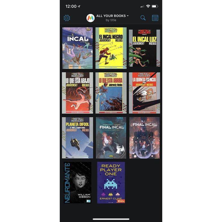 Después de que Papa Noél (El de la Ciudad de Los Niños Perdidos de Jaunet y Caro of Course) me trajera mi estelar iPhone X ahora me sorprenden Los Reyes Magos de Oriente trayéndome una increíble Reader App MultiDevice para eBooks ePub y Comics CBx que sincroniza mis lecturas entre iPhone X y el iPad. Gracias !!!  A ver si la cuesta de enero me trae el iPad Pro para rematar.