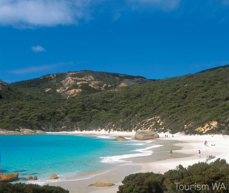 Little Beach in Two Peoples Bay, one of the most beautiful beaches in Western Australia
