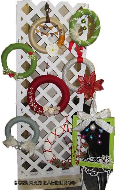 Wreath Displays For Craft Shows Wwwpicsbudcom