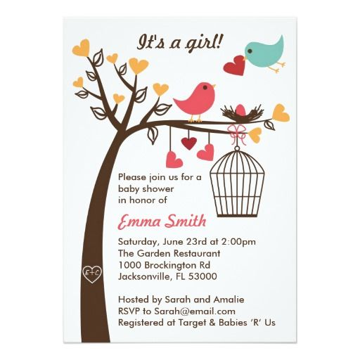 1590 best safari baby shower invites images on pinterest invites bird family baby shower invitation make your own invites more personal to celebrate the arrival filmwisefo Image collections