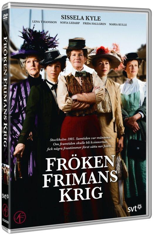 Война фрёкен Фриман / Fröken Frimans krig / Сезон: 1 (серии:1-3 из 3) [2013, драма, история, DVDRip] Rus Sub