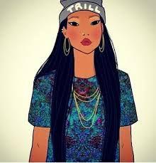 Emo Pocahontas