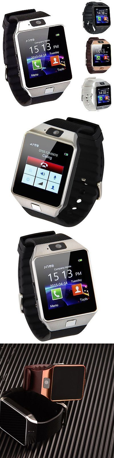 Smart Watches: Cawono Dz09 U80 A1 Bluetooth Smart Watch For Ios Iphone Samsung Lg Android Phone -> BUY IT NOW ONLY: $9.99 on eBay!