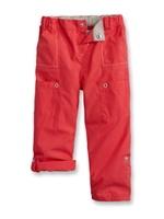 Pantalon toile modulable Rouge