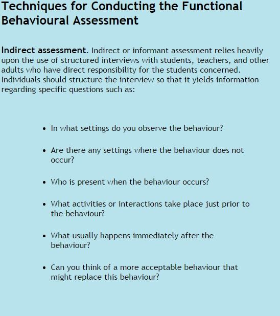 8 best Functional Behaviour Assessment images on Pinterest - functional behavior assessment