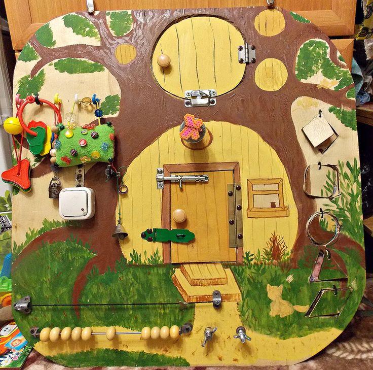 Развивающая доска для ребенка от пользователя «id822197» на Babyblog.ru