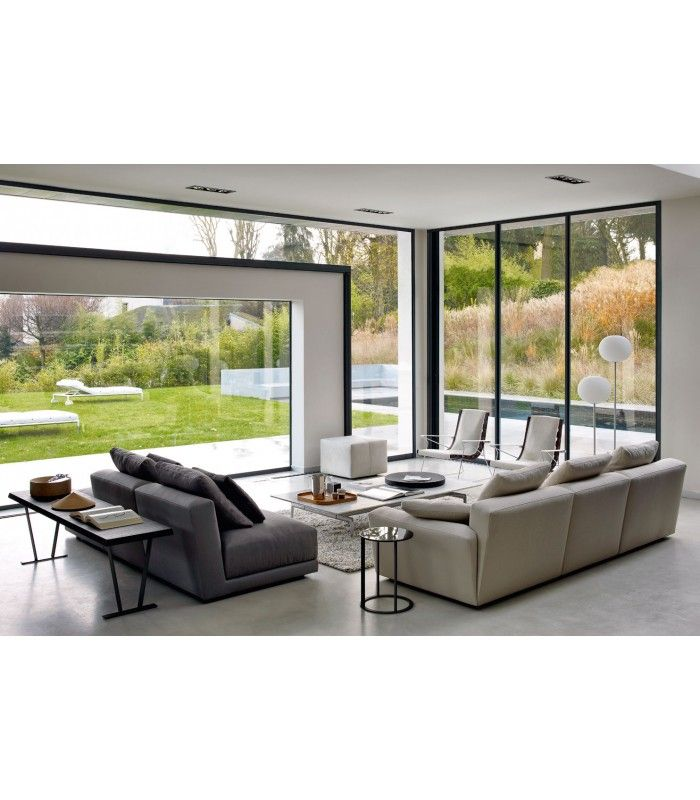 Sofa #Luis B&B design Antonio Citterio buy at #italian #design #outlet €19459,49 #living #inspirations