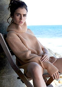 Lily Collins photographed by Mark Squires for Malibu Magazine.