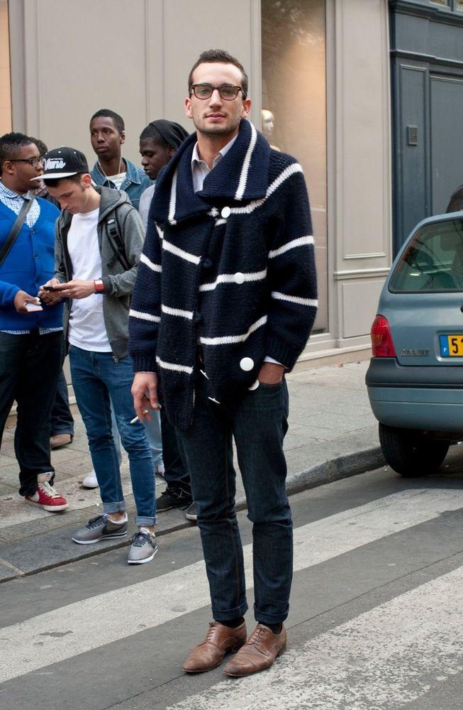 amazing striped cardigan #menswear #cardigan