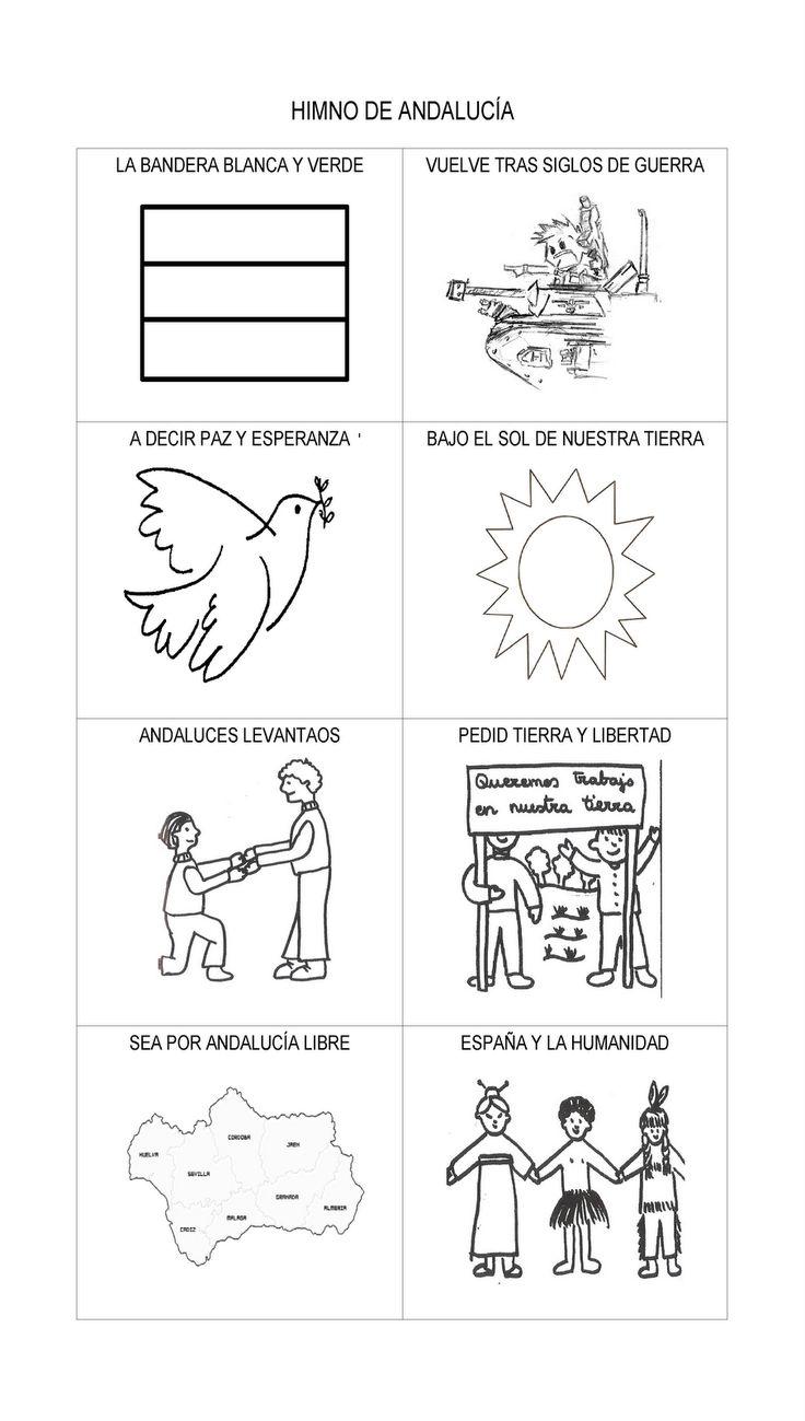 Mi Mundo Infantil: DIBUJOS DÍA DE ANDALUCÍA