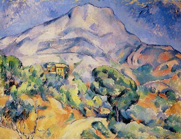 Paul CEZANNE «La Montagne Sainte-Victoire»