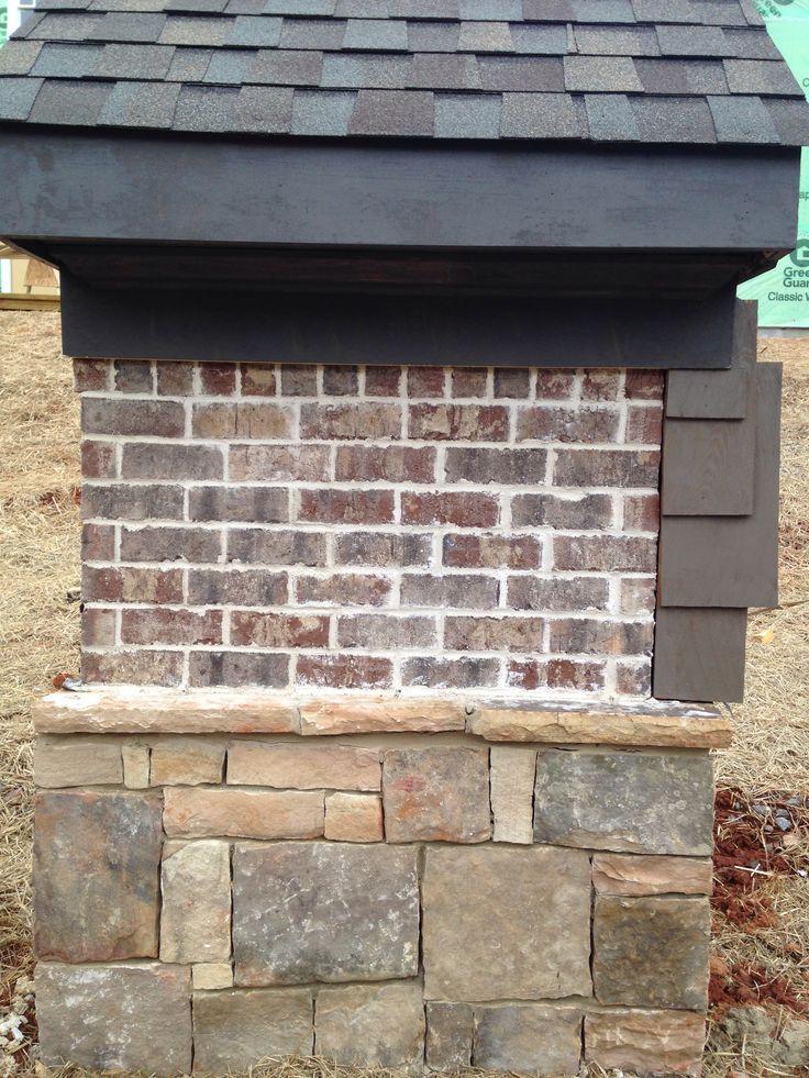 Harbor Shoals Brick Ivory Mortar Job Site Panels