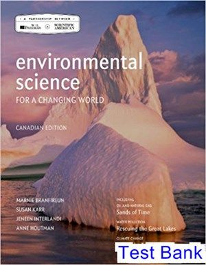 The 25 best environmental science textbook ideas on pinterest environmental science for a changing world canadian 1st edition branfireun test bank test bank fandeluxe Image collections