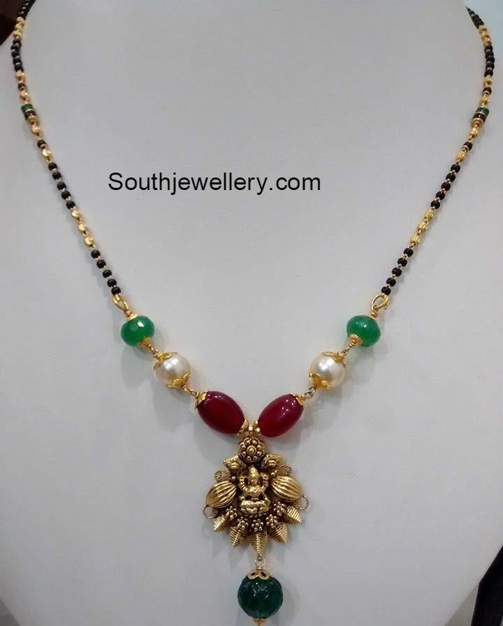 1 Gram Beads: Black Beads, Nallapusalu, Mangalsutra