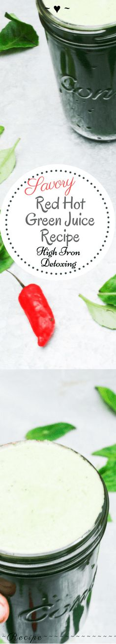 Red Hot Green Juice – Rebels Kitchen