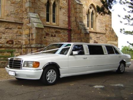 Classic Mercedes Stretch Limousine, Seats 7 Passengers + Chauffeur #BrisbaneClassicCarHire #WeddingCarsBrisbane #LimousineHireBrisbane www.premier-limos.com.au