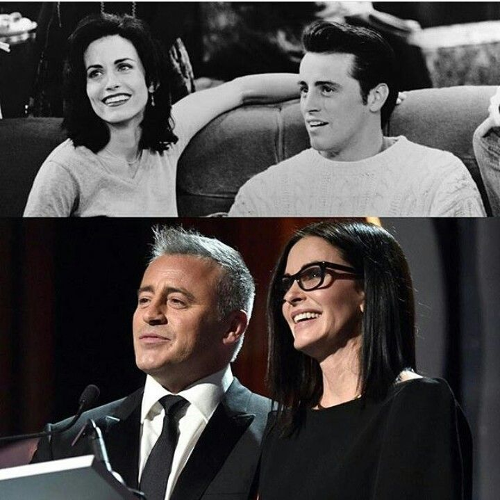Courteney Cox & Matt LeBlanc (Monica & Joey)