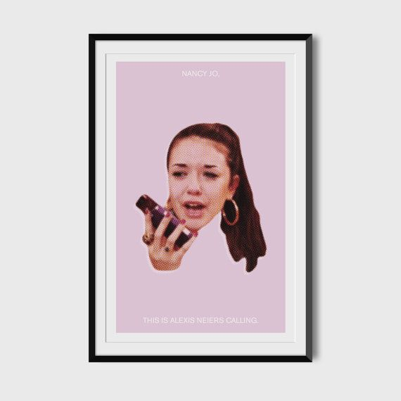 Nancy Jo This is Alexis Neiers Calling 11x17 Poster