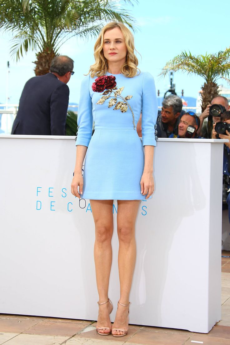 Diane Kruger in Dolce and Gabbana