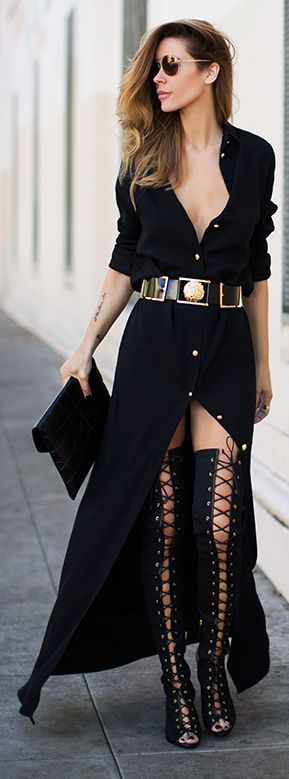outfits with gladiator heels 16
