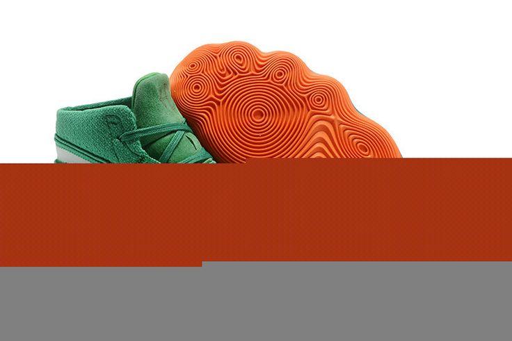 Nike Hyperdunk 2017 Wholesale Nike Hyperdunk 2017 High Apple_Green Gold Dark Blue Orange Basketball Shoe For Discount