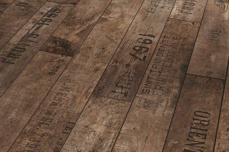Wine crate laminate flooring -  £34.55 for 2.1m² from floorsonline.co.uk