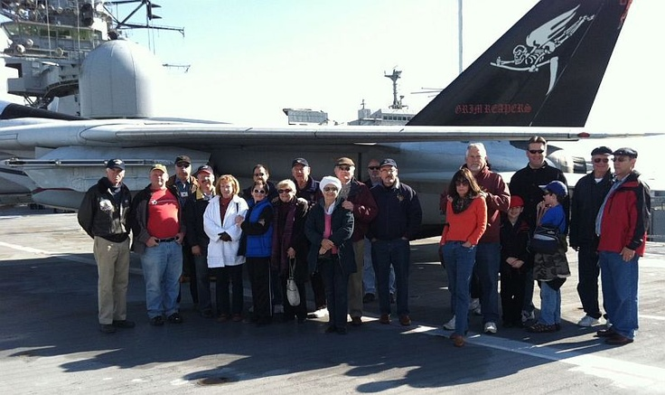 Knights of Columbus, San Mateo Council Visit to Aircraft Carrier USS HORNET Museum - 2011