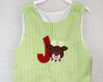 291662- Baby Boy Christmas Outfit - Toddler Boy Christmas Outfit - Christmas Baby Outfit - Baby Boy Clothes - Baby Christmas Outfit -Jon Jon