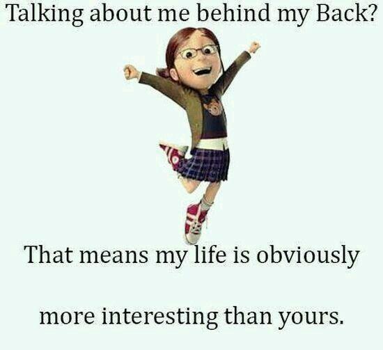 Hah...just saying!