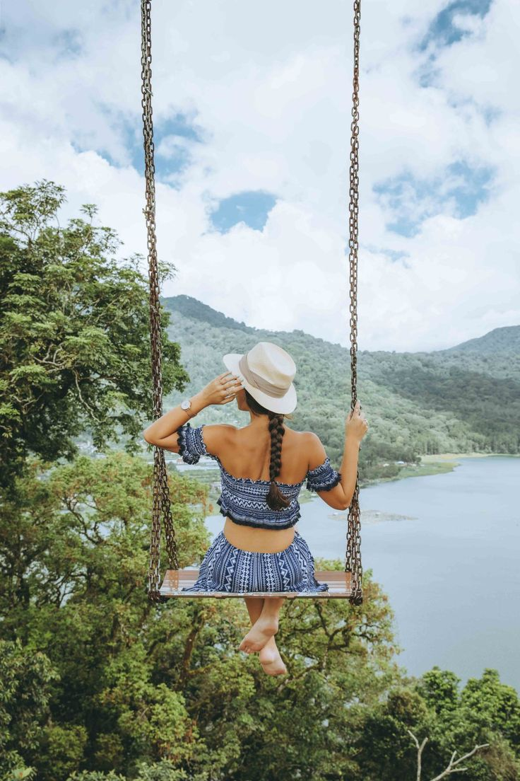 Swing at Munduk Bali, Indonesia