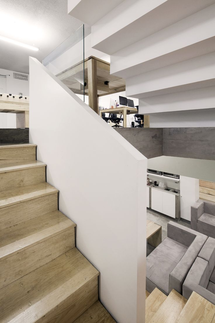 Main internal staircase connecting all 4 levels.