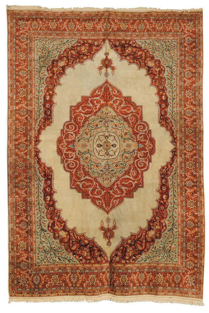 Tappeto persiano Tabriz, fine XIX secolo from Cambi Casa d'Este