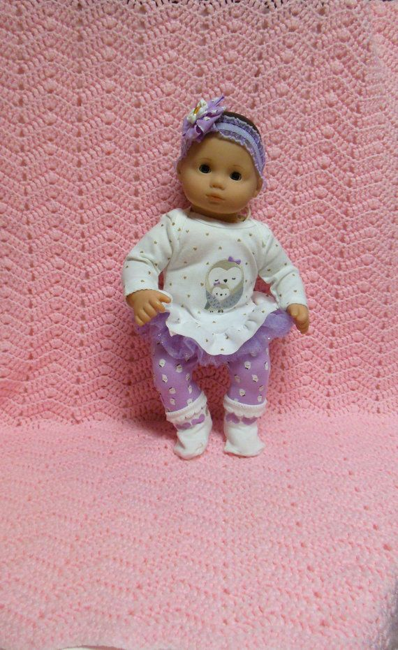 AMERICAN GIRL Bitty Baby Clothes Snowy Owl Love 15 by TheDollyDama