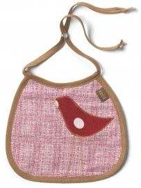 Zebi Baby Linen Red Dot Bird