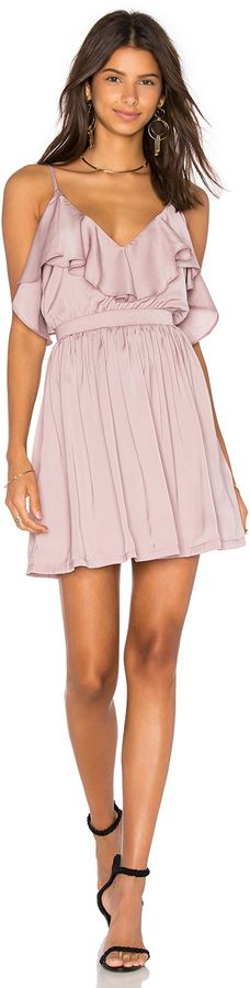 OH MY LOVE Grecian Frill Dress