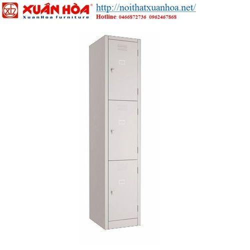 Tủ sắt loker Xuân Hòa LK-3N-01 – Nội thất Xuân Hòa/Nội