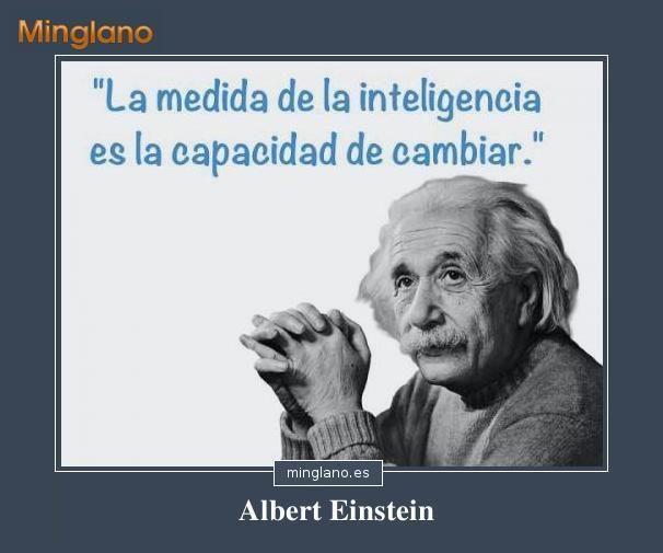 Frases De Albert Einstein Sobre La Inteligencia Frases