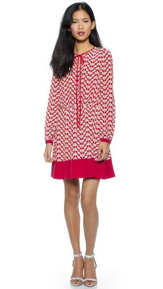RED Valentino Slipper Print Dress