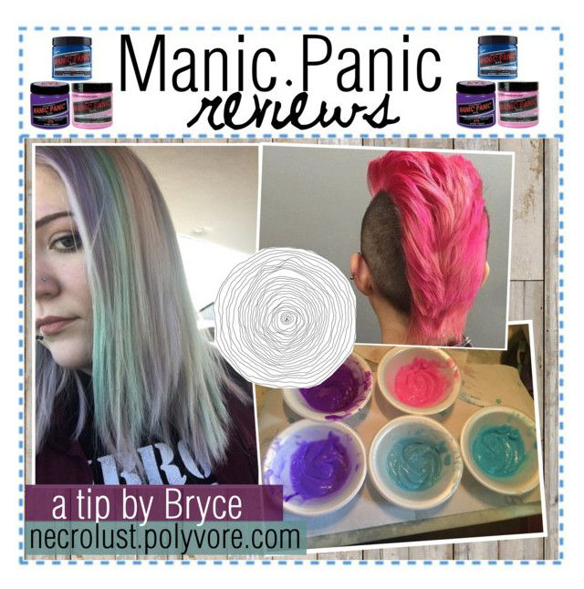 """Manic Panic reviews"" by ocean-waves-tips ❤ liked on Polyvore featuring beauty, Piet Hein Eek, Manic Panic and tipsbybryce"
